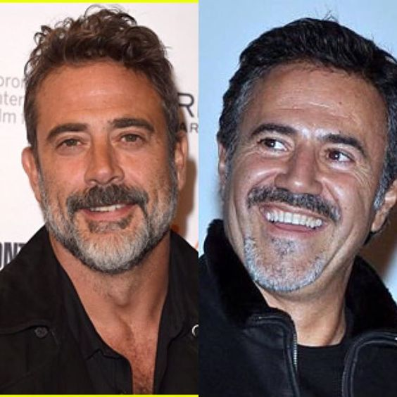 I always thought this is might be the same person Jeffrey Dean Morgan and Jose Garcia. What a similarity 🤔👍 #thewalkingdead #thewalkingdeadamc