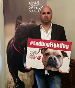 end dog fighting sports