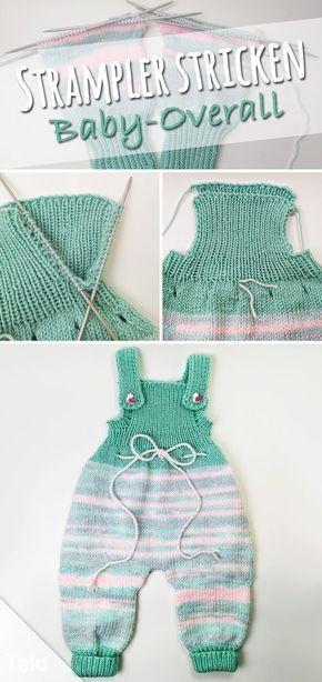 Tianhaik Baby Footies Stricken Strampler Overall Langarm Outwear Outfits Pullover Overall Winter Stricken Strampler Kleidung f/ür 0-18m Babys