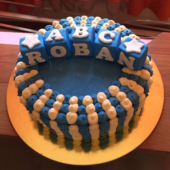 Christening cake for a baby boy!!