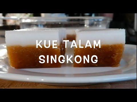 Resep Cara Membuat Kue Talam Singkong Mantul Rebake I Asian Steamed Cassava Cake Ii Clk Youtube Food Desserts Cooking