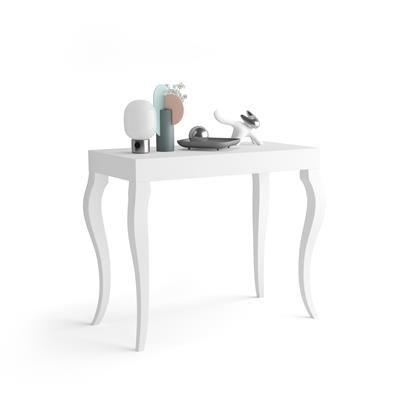 Tavolo Consolle Allungabile Modello Classico Noce Canaletto Mobili Fiver Nel 2021 Tavolo Consolle Tavolo Consolle Allungabile Arredamento Salvaspazio