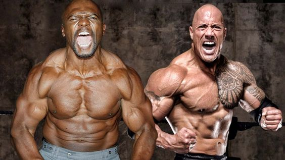 Terry Crews VS Dwayne The Rock Johnson & Motivation