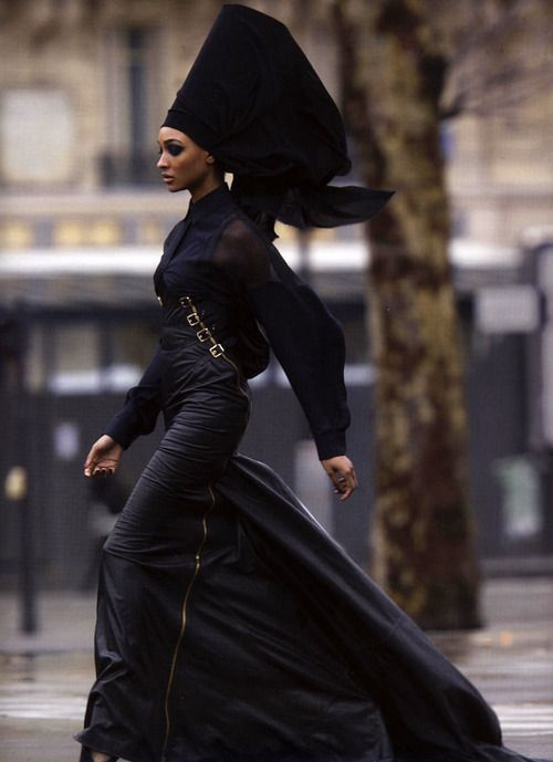 If I saw this elegant woman striding toward me I wonder if I would have enough courage to speak to her.: