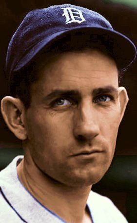 Charlie Gehringer///my baseball is now at: https://www.pinterest.com/nferl1/