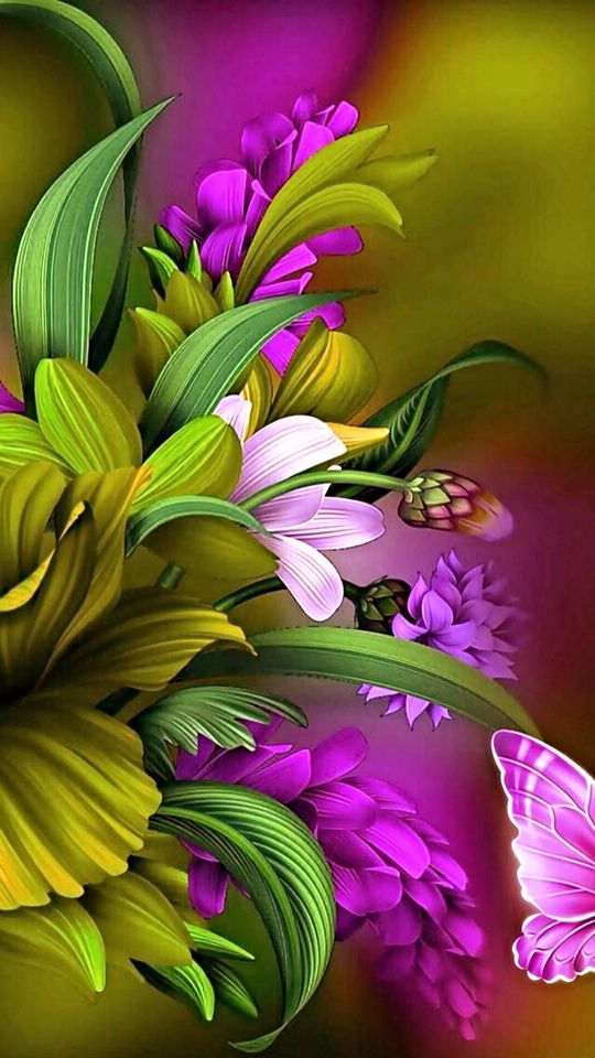The Bold Brilliant And Beautiful Colors Of Nature Color Nature Flowers Colorful Fraktal Sanati Soyut Sanat Cicekler