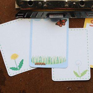 Spring Season Free Printable Project Life Cards
