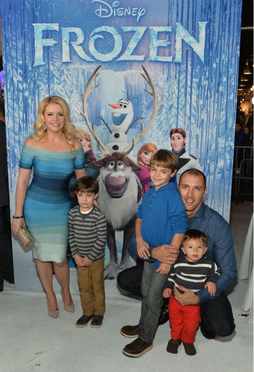 Mark Wilkerson And Melissa Joan Hart 2013