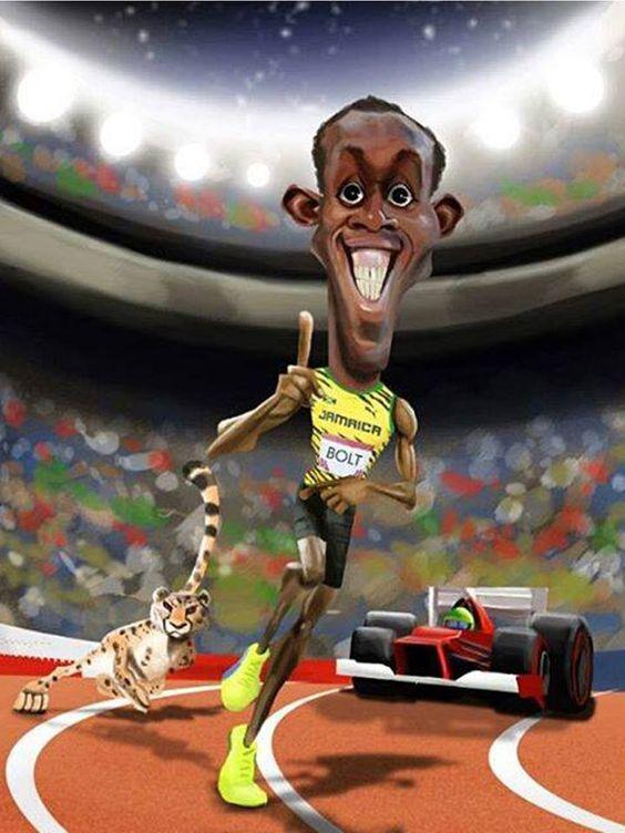 Usain Bolt por Luiz Felipe Gonçalves