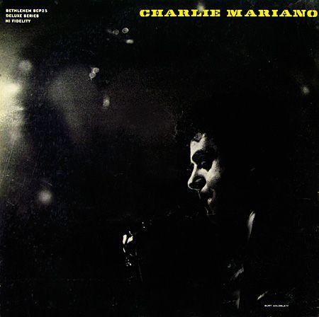 "Charlie Mariano - Bethlehem BCP 25 [12"" LP] 1955  Design and photo- Burt Goldblatt"