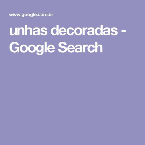 unhas decoradas - Google Search