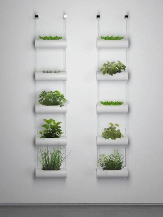 La belleza de los jardines verticales plantas y jard n - Jardines verticales plantas ...