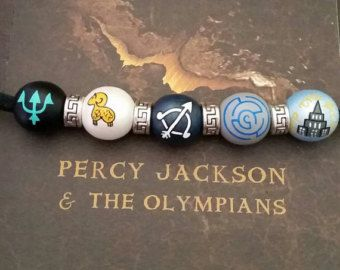 Percy Jackson necklace, camp half blood, Titan's Curse Edition