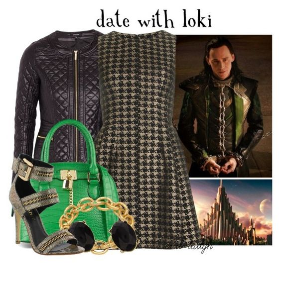 """""""Date with Loki -- Requested Set"""" by evil-laugh ❤ liked on Polyvore featuring Morgan, Dorothy Perkins, ALDO, Adele Marie and Liliana"""