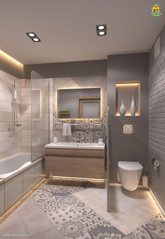 15 Decor And Design Ideas For Small Bathrooms 1 In 2020 Bathroom Design Small Small Bathroom Remodel Small Bathroom