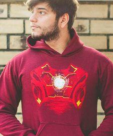 Moletom Iron Armor - Unissex