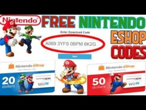 carte nintendo eshop gratuit How to get free nintendo eshop codes 2019 new (With images
