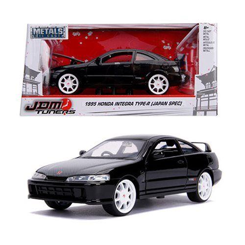 Honda Integra Type-R JDM Tuners 1995 schwarz Modellauto 1:24 Jada Toys