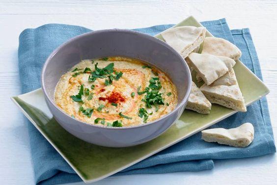 Kijk wat een lekker recept ik heb gevonden op Allerhande! Hummus: