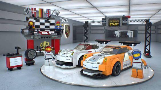 Enter the showroom! #LEGO Speed Champions- 75912 #Porsche 911 GT Finish Line