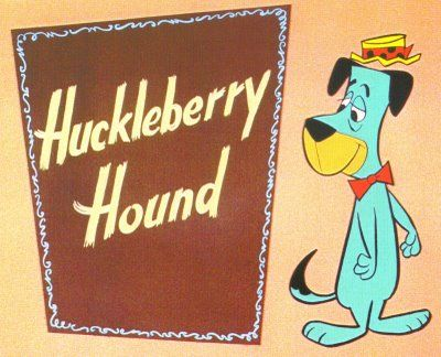 If you were born in 1958, that was the same year people first saw The Huckleberry Hound Show from Hanna-Barbera on TV.: