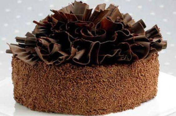 Chocolate ruffle cake recipe