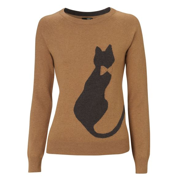 NW3 Cat Intarsia Sweater   Hobbs (aka my new fav for workwear