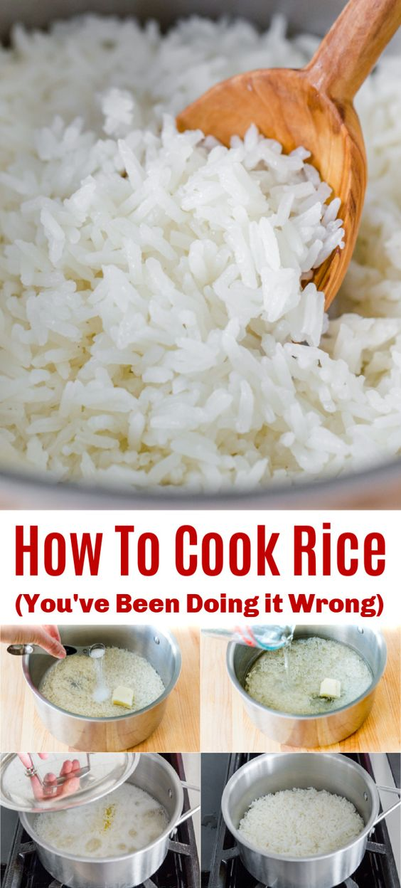 How to Cook Rice - Perfect Fluffy White Rice Recipe