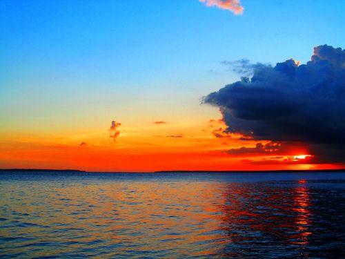 O lugar com o por do sol mais lindo que já vi! Rio Negro - Manaus, Amazonas (by nerifisio)
