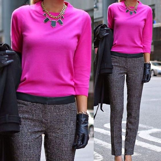 Pink com cinza, combinação sofisticada! #MNT #modanotrabalho #lookdodia #lookfashion #lookclassico #lookmoderno #style #moda #instablogger #instapicture #workfashion #workstyle #workingwoman #businesswoman #blogdemoda #beautiful #bestoftheday #photooftheday #fashion #fashionatwork