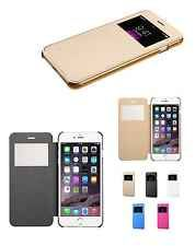 New Flip Leather Wallet View Window Skin Case Cover for Apple iPhone 6 PLUS 5.5""