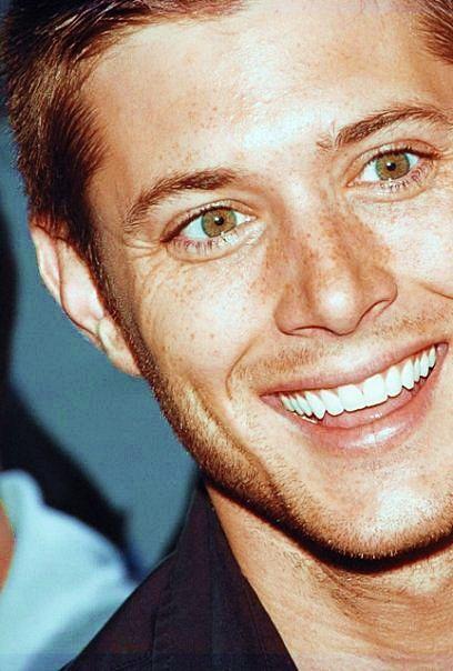 Jensen Ackles no makeup