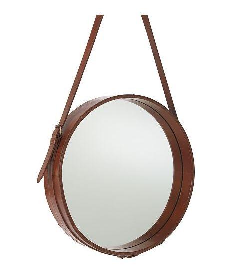 Läderspegel