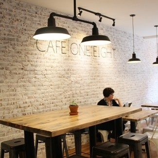 Cafe One Eight- a commercial space renovated by Thechrisandclaudeco