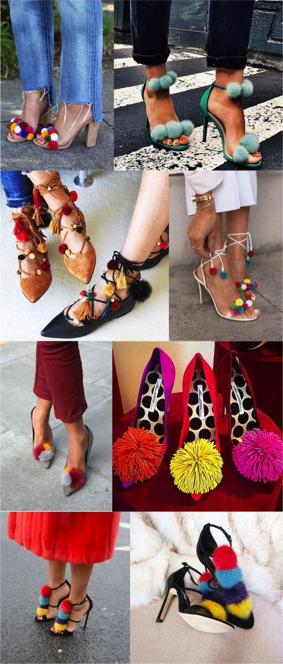 No verão 2017 eu quero usar sapatos com penduricalhos! - Fashionismo: