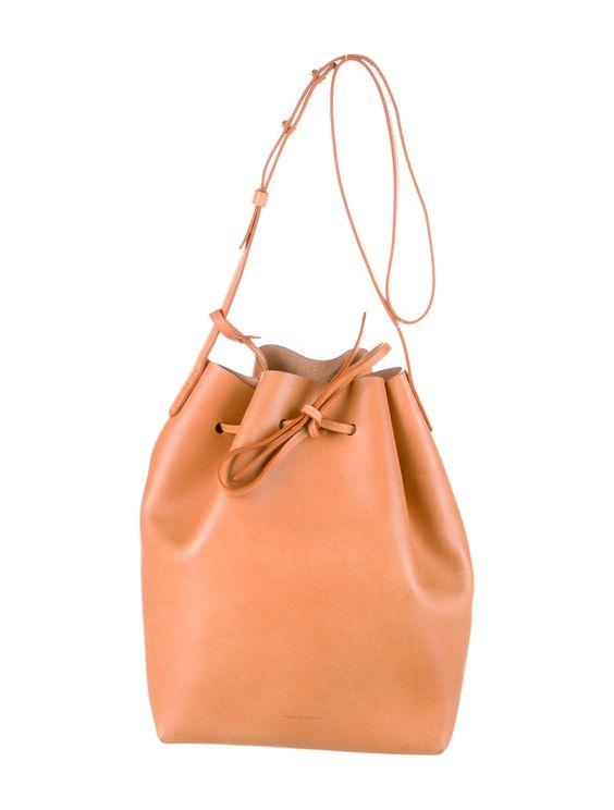 Mansur Gavriel bucket bag #style #fashion #accessories