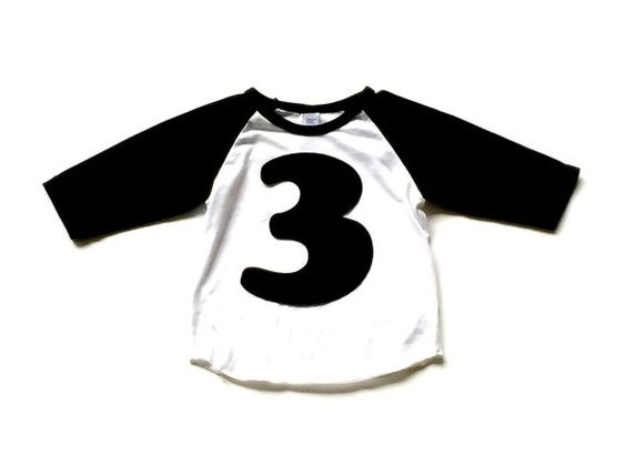 Extra Large Birthday Number, Other Colors Available, Fabric Iron On Applique by onceuponadesign.etsy.com