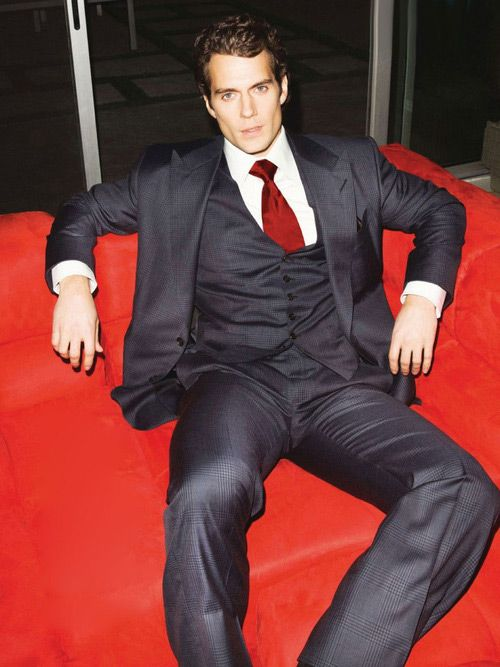 "Henry Cavill  On The Cover Of British ""GQ""....  Careful there you're drooling!"