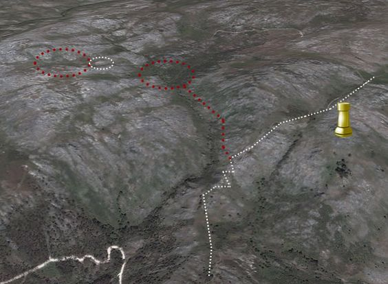 Tras o ouro dos mouros (plus V): O camiño mineiro ao Outeiro dos Corvos
