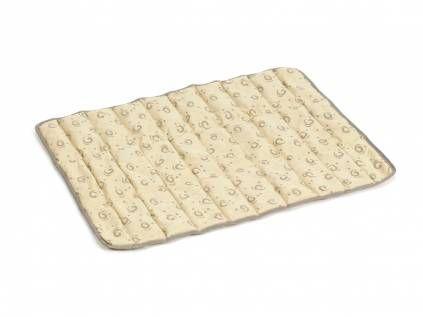 Hundedecken & Möbelbeeztees - Quick Cooler Aqua Kühlmatte für Hunde -beige-, -S- (51 x 36 cm)