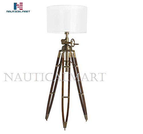 Nauticalmart Royal Marine Tripod Floor Lamp Nauticalmart Https Www Dp B07d797bv8 Ref Cm Sw R Pi Dp U X Jm Tripod Floor Lamps Lamp Cool Floor Lamps