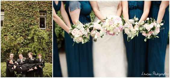 Teal dresses - taken by Lawson Photography