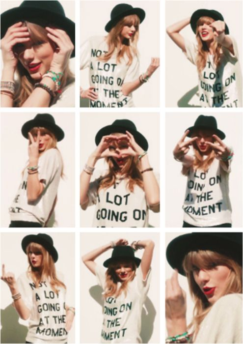 Taylor Swift's '22' Music Video... I loved her clothes in this one! :)