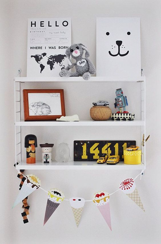 Ideas creativas y originales para decorar las estanter as - Estanterias infantiles originales ...