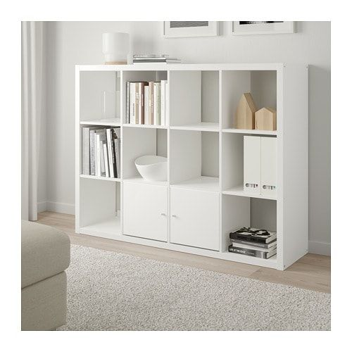 Kallax Shelf Unit White White 44 1 8x57 7 8 Ikea Kallax Shelf Unit Kallax Shelf Unit Kallax Shelving Unit