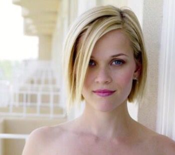 Reese Witherspoon choppy chin length bob
