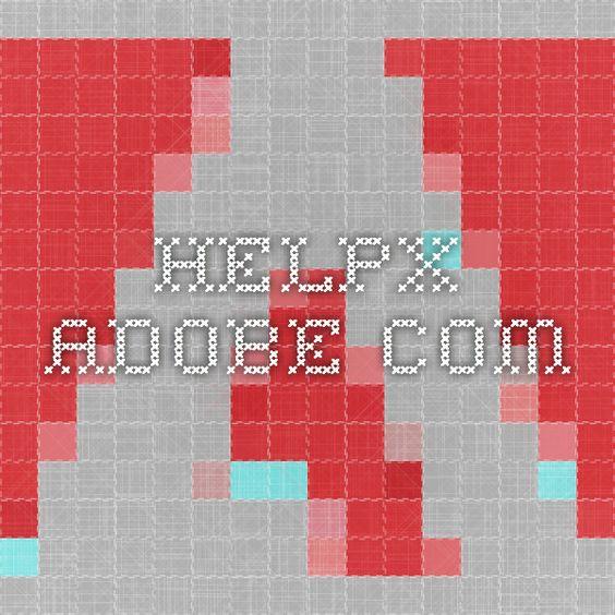 helpx.adobe.com