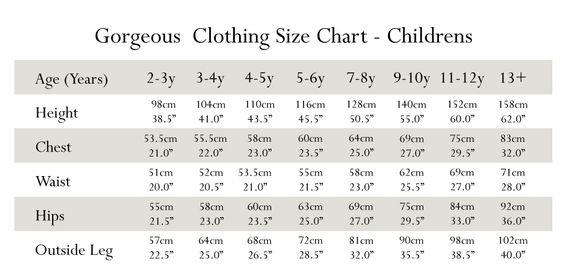 Swedish Baby Clothes Sizes