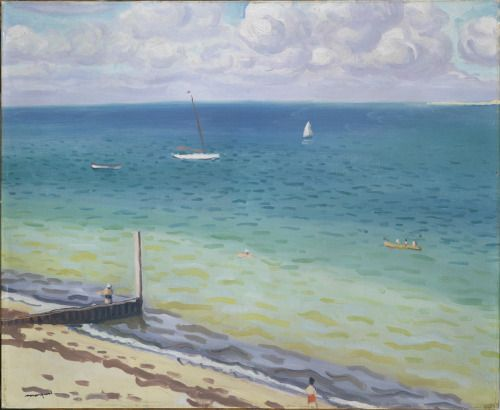 Albert Marquet (French; 1875–1947)-Le Pyla-1935