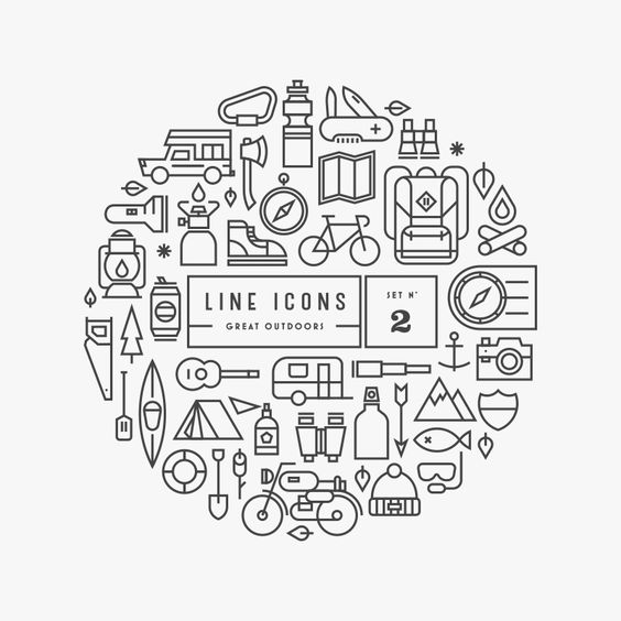 Line Icons | GRAVUAL | Grafisch bureau | Grafische vormgeving | Antwerpen